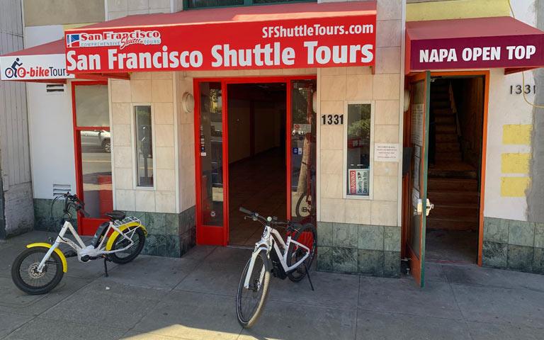 Napa Tour Shuttle Store